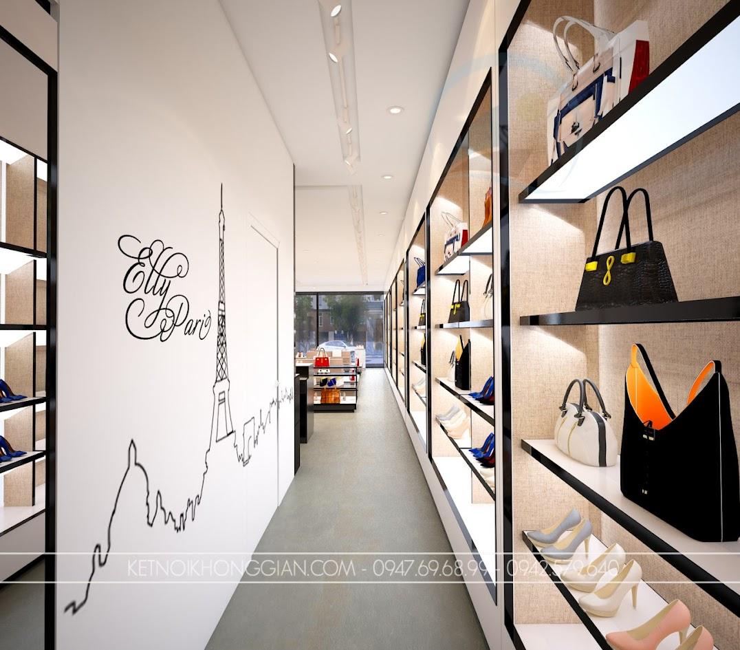 thiết kế shop túi xách trung hòa 9
