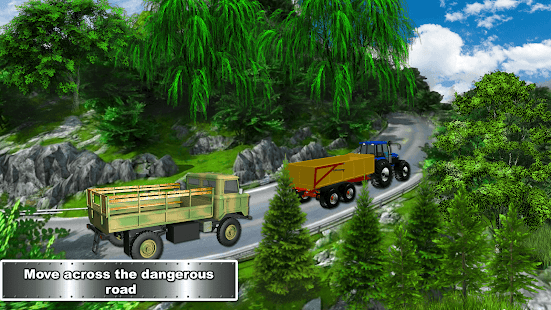 Farming Tractor Adventure - Sim Driving 2018- screenshot thumbnail