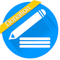 My Notes - Donation icon