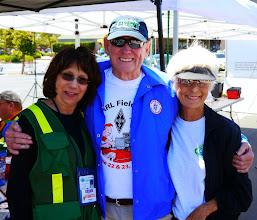 Photo: Fred (KI6BES) with Marianne (KI6MTU) and Joann - enjoying the day!