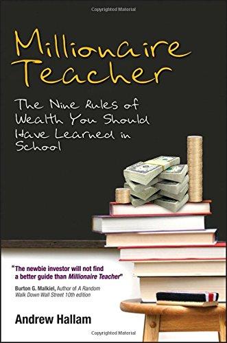 Millionaire Teacher Book Cover