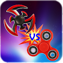 Fidget Spinner Fight Battle Ground icon