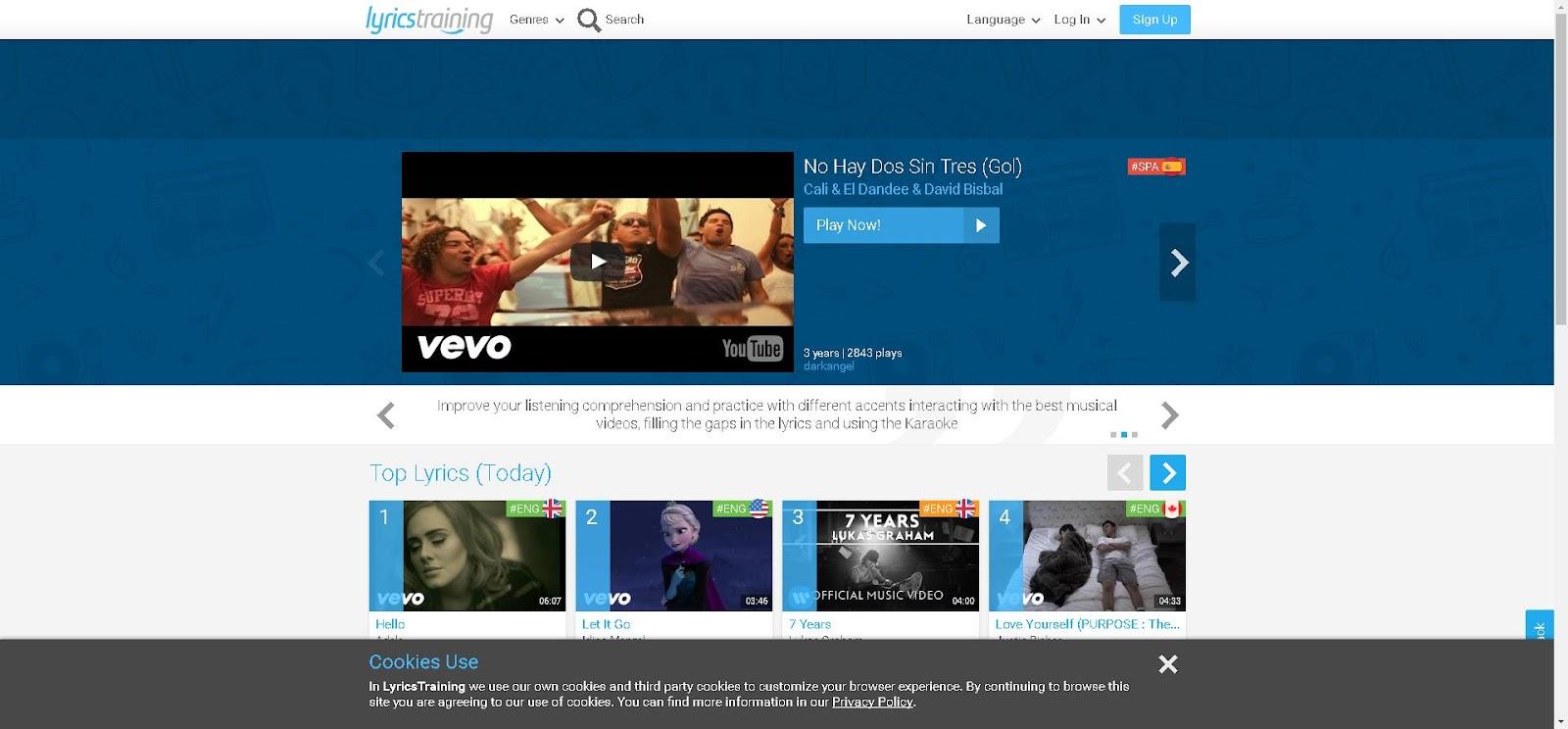 Learn Languages with Music Videos, Lyrics and Karaoke!.jpg