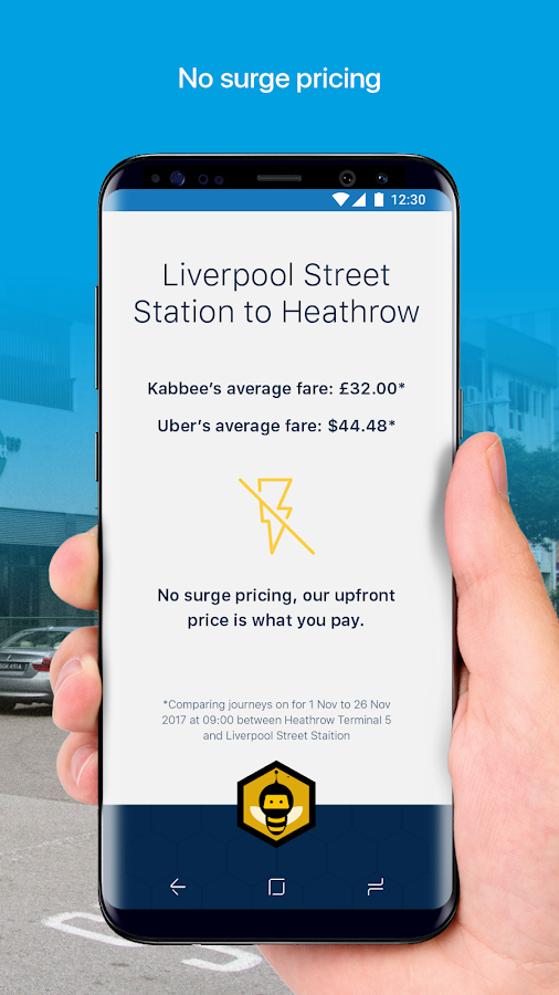 Kabbee - Book London Minicabs & Compare Taxi fares- screenshot