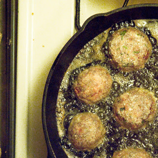 DUCK or GOOSE MEATBALLS