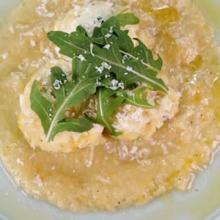 Ricotta Gnudi with Yellow Tomato Sauce