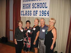 Photo: Patsy (Goodstein) Martin, Diane Malette, Vicki (Thomas) Francolucci, Ivan Estes, Kathi (Towery) O'Bryant