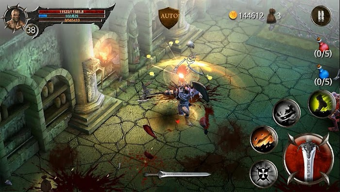 BloodWarrior- screenshot