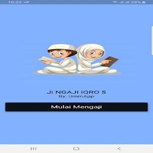 Download JINGAJI IQRA 5 For PC Windows and Mac apk screenshot 1