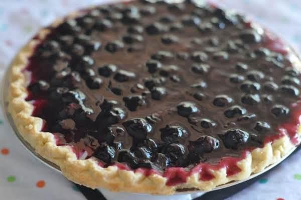 Lemon Cream Cheese-blueberry Pie Yummy!! Recipe