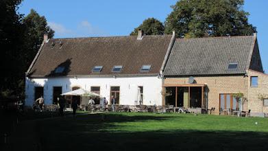 Photo: Un premier apéro bien sympa au Baronhof