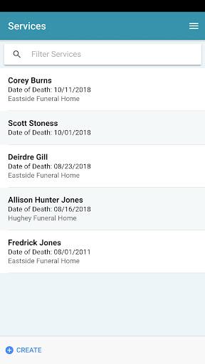 funeralcall on the go screenshot 3