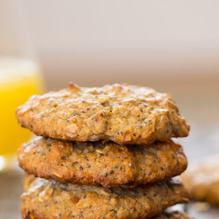 Toasted Coconut Quinoa Breakfast Cookies