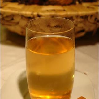 Ginger and Cinnamon Tea.