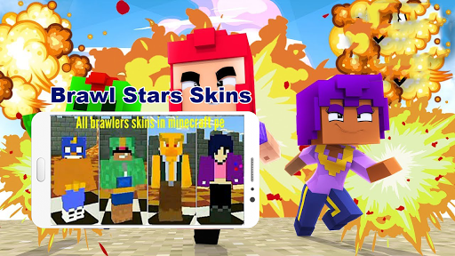 Brawl BS Stars Skins & Mod For Mcpe 2020 1.0 screenshots 1