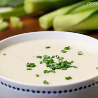 Cold Potato Leek Soup