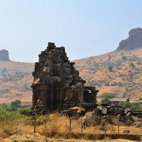 Anjaneri, Nashik by Akshay Padhye - Buildings & Architecture Statues & Monuments