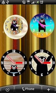 くまモンのアナログ時計のおすすめ画像4
