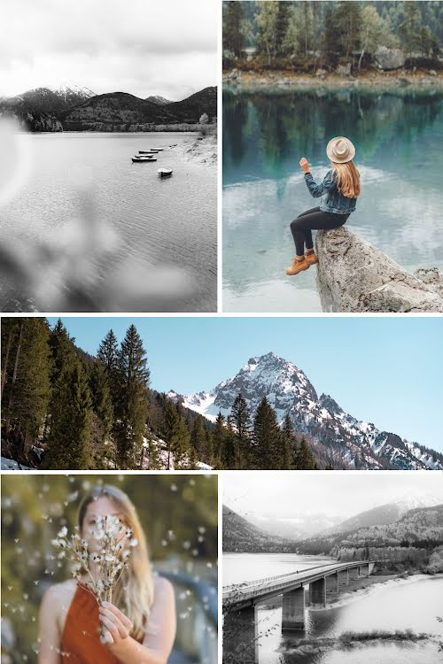 Outdoor Collage - Pinterest Pin Template