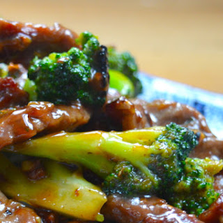 Oyster Sauce Beef and Broccoli for Jamie Oliver's Food Tube.