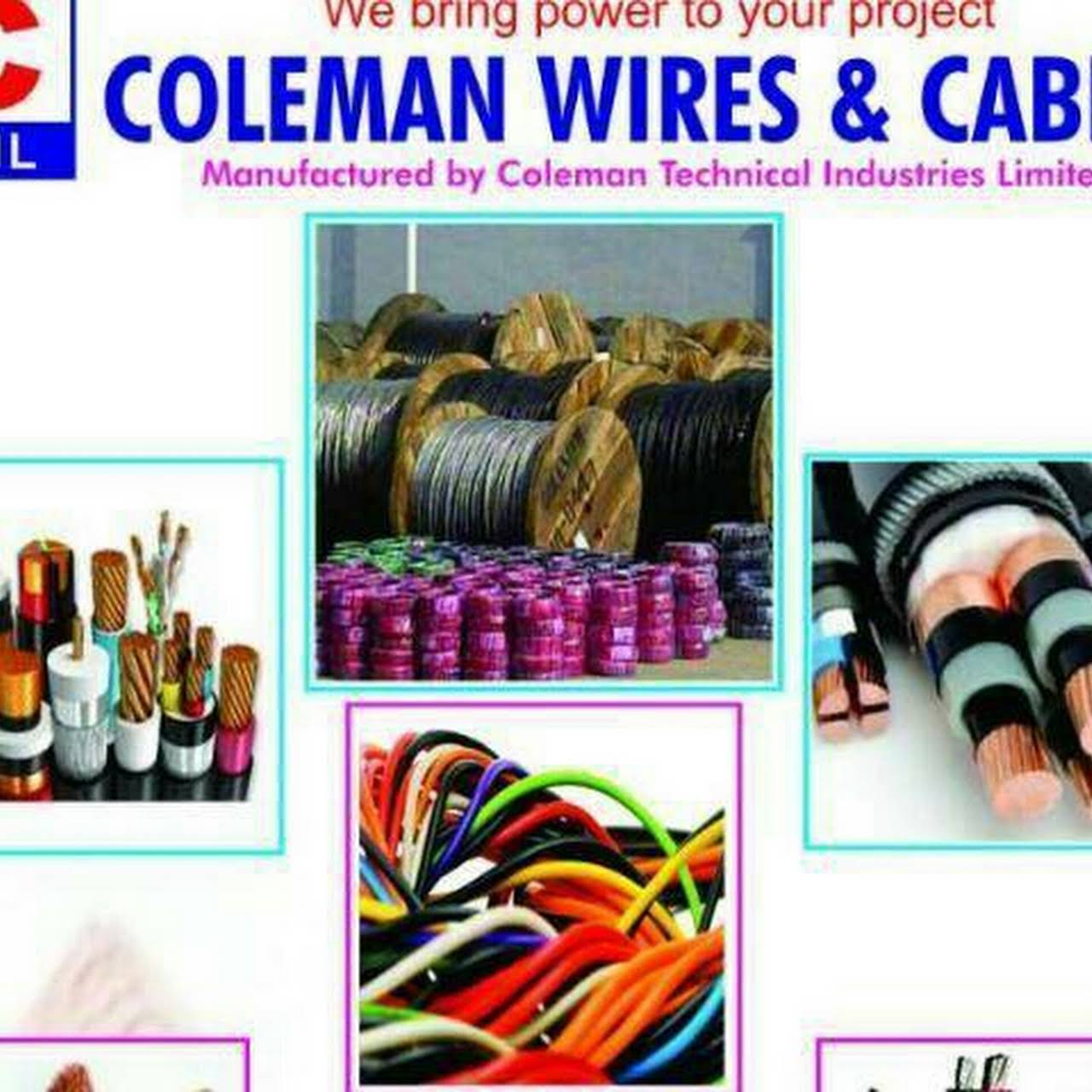 Coleman Wires and Cables Distributor - Electric Utility Manufacturer ...