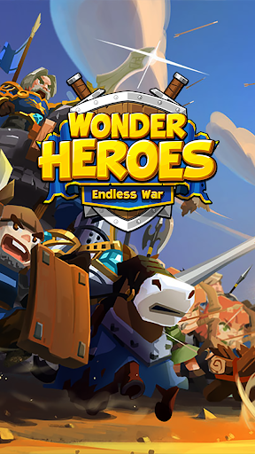 Wonder Heroes : Endless War - Idle Clicker RPG  captures d'écran 1
