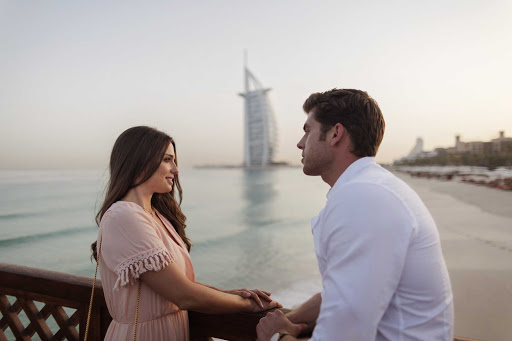 Enjoy warm evenings with your significant other in a memorable spot along Dubai's coastline.