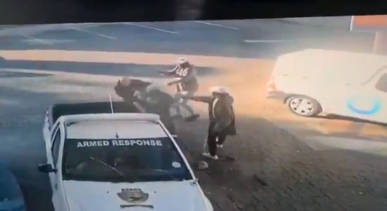 WATCH | Guard shot and robbed of gun at petrol station in Johannesburg - SowetanLIVE