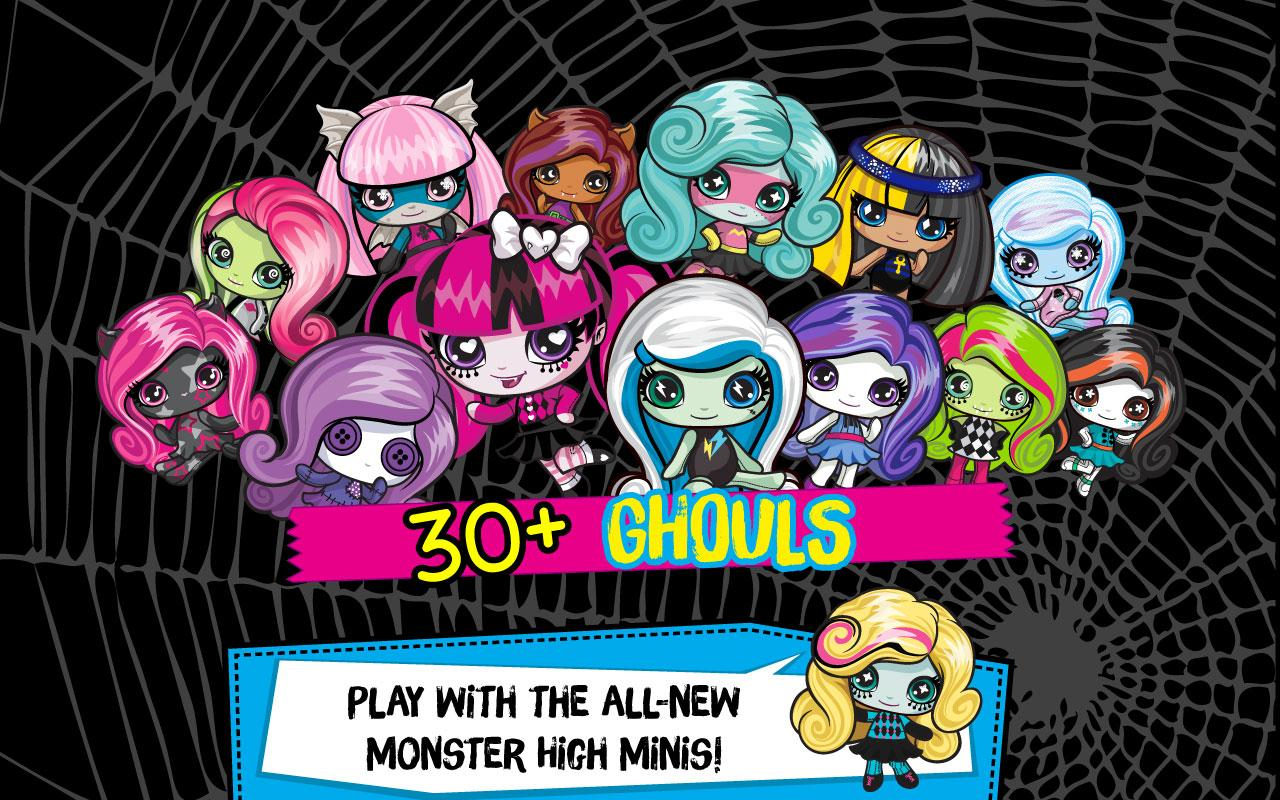 Uncategorized Images Of Monster High monster minis mania android apps on google play screenshot