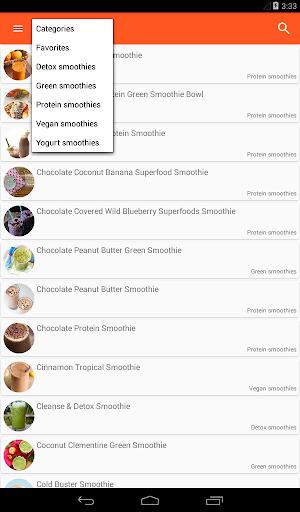 100+ Smoothie Recipes Screenshot