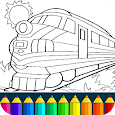 Train drawing game for kids apk