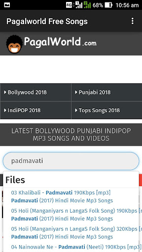 2018 bollywood song ringtone download pagalworld