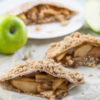 Apple Pie Stuffed Pitas.