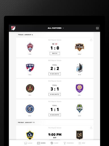 MLS MatchDay 2011 screenshot 13