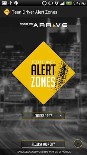 Teen Driver Alert Zones