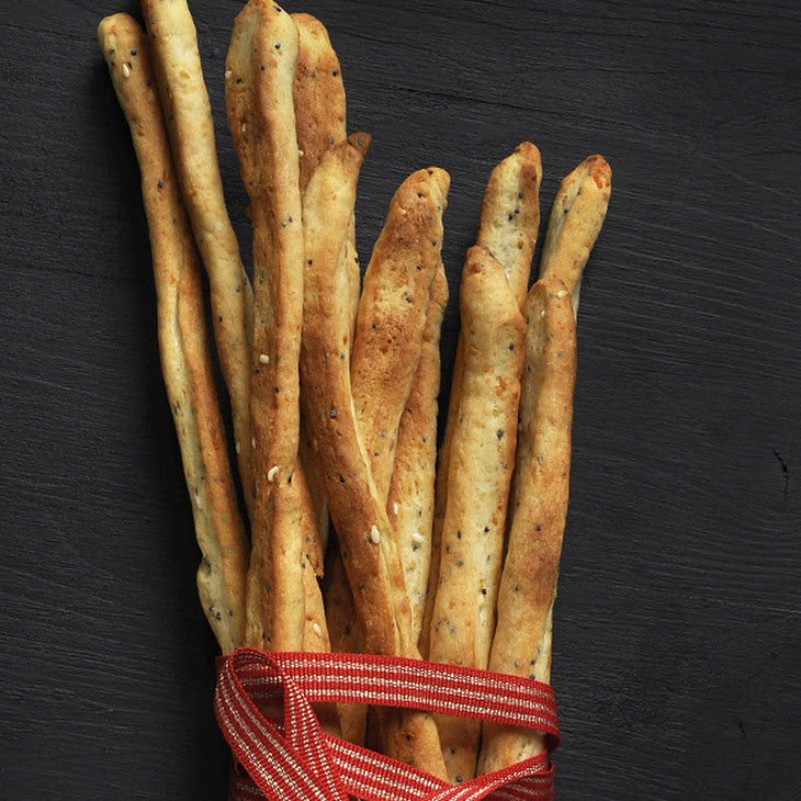 Parmesan Bread Sticks with Seeds