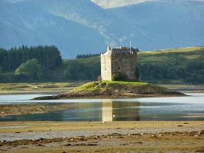 Photo: Castle Stalker près d'Appin, construit au XVIe siècle