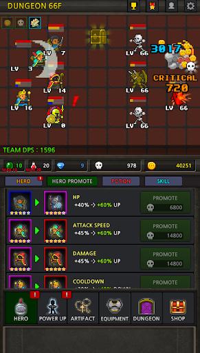 Grow Heroes Vip : Idle RPG  image 4