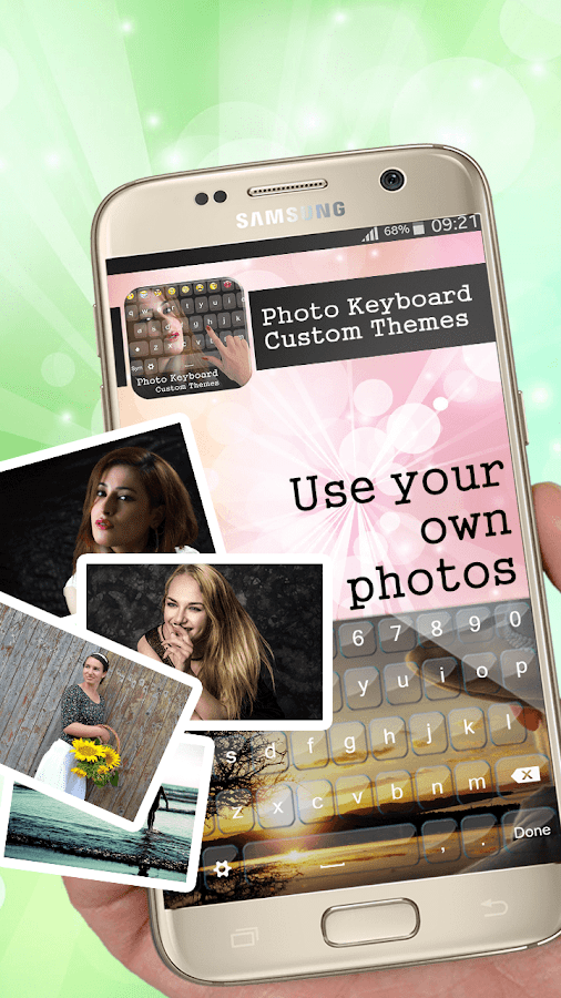 Photo Keyboard Custom Themes- screenshot