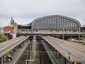 Photo: Central train station