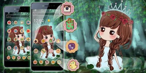 Princess Cute Theme HD 1.1.5 screenshots 4
