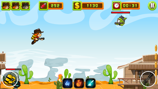 JetCarls vs Zombie Screenshot