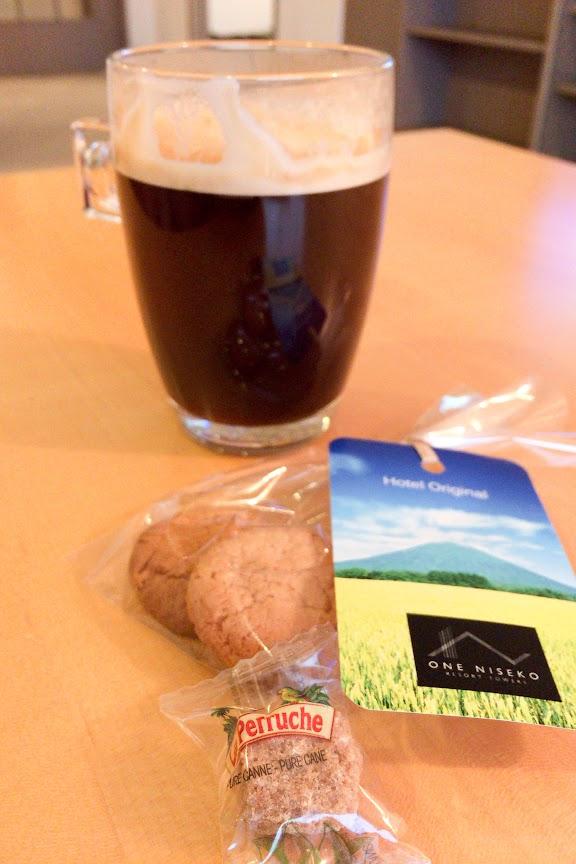 ウエルカムコーヒー&クッキー