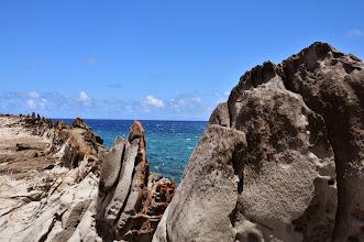 Photo: Ka'anapali rock formations.