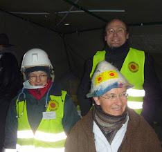 Photo: Dr. Bettina Langenbruch und zwei Berliner Ärzte