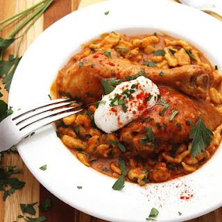 Easy 4-Ingredient Chicken Paprikash