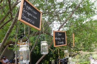 Photo: Consol Solar jar lights & chalkboards