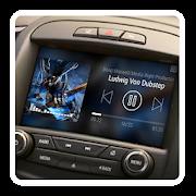 Blure Music - theme for CarWebGuru Launcher