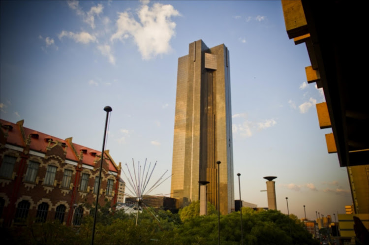The South African Reserve Bank building in Pretoria. File photo.