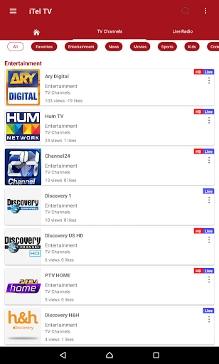 iTel TV - Watch Everything anywhere 1.09942 screenshots 10
